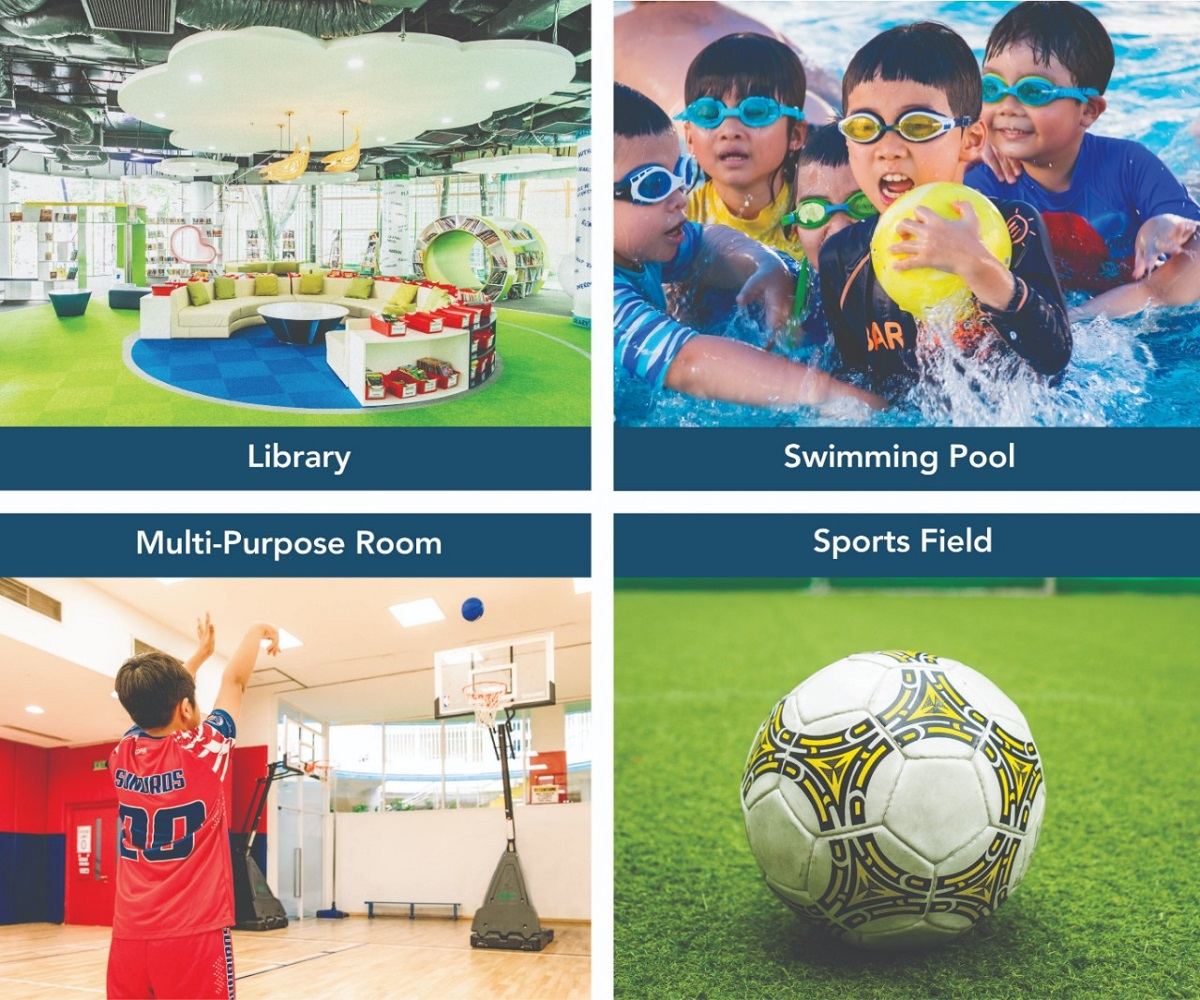 Modern and high-end facilities at international school